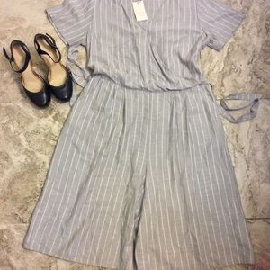 A New Day cropped jumpsuit size XXL